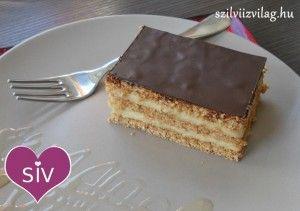 Mennyei mézes krémes - Diétás süti recept