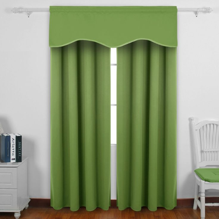 25 best ideas about short curtain rods on pinterest for Forest green curtains drapes