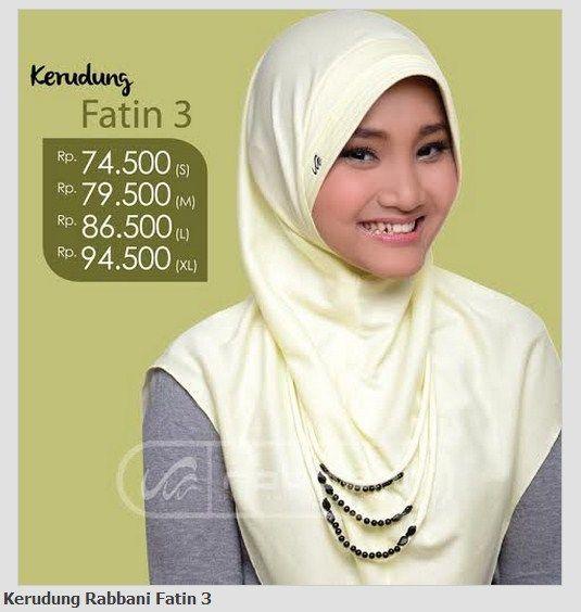 Kerudung Rabbani Fatin 3, order silakan SMS/WA: 083890238542