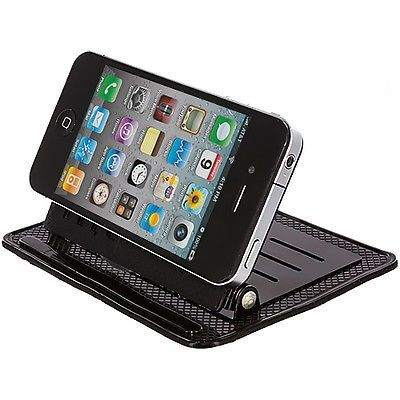 nice Black Car Mount Dashboard Cradle Holder Stand for Cell Phones - For Sale