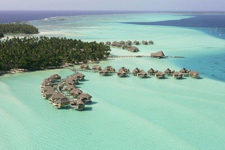 Курорт-Le-Tahaa-Французская-Полинезия-Таити