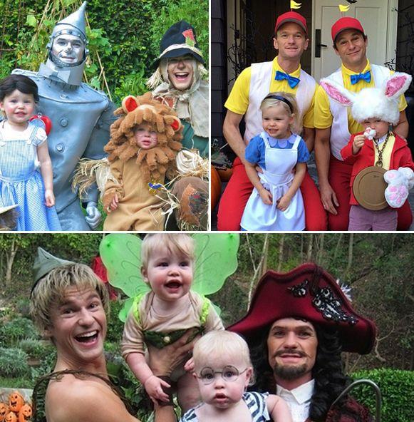 Neil Patrick Harris' Family Halloween Costumes Through the Years: Adorable Photos!