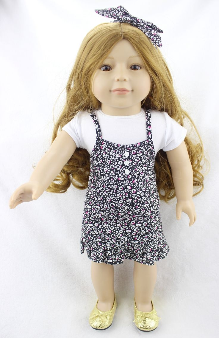 New 18 Princess Girl Doll American Girl Doll with Long Sandy Blonde Hair Fashion Doll Kids Play House Toy Girls Birthday Gifts #Affiliate