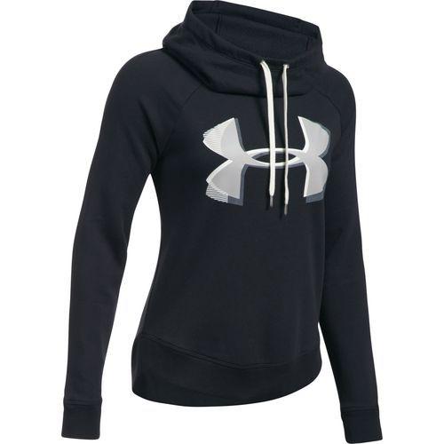 Under Armour Women's Favorite Fleece Pullover Hoodie (Black, Size X Small)  - Women's