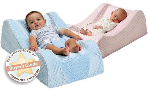 Nap Nanny Chill, new, improved safety, mimics the contours of a car seat, the softness of a baby blanket and the stability of a mattress–allowing your infant to rest and play peacefully. $130