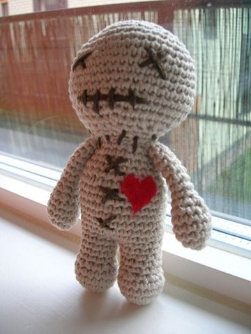 Knitting Pattern Voodoo Doll : Voodoo Doll Amigurumi Pinterest Patterns, Bear patterns and Amigurumi