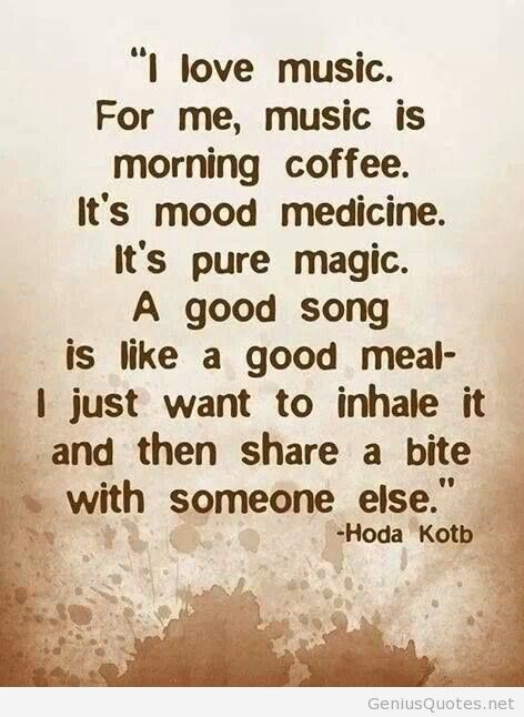 I love music best quote