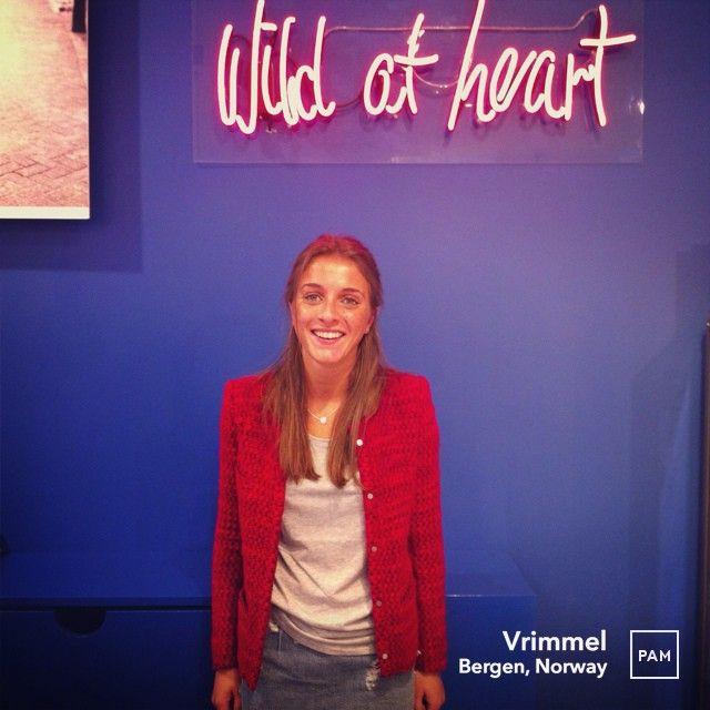 Wild at heart @ Vrimmel. #refilia #jacket by #iro #frenchdesign #precollection #fw13 #aw13 #wool #mohair #womensfashion #vrimmel #womenswear #hybridshopping #bergen #norway