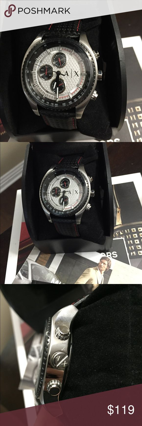 Brand New Armani Men's Watch Brand New with tags with box and manual A/X Armani Exchange Accessories Watches
