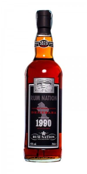 Rum Nation Demerara 23 y.o. Distilled 1990 Bottled 2014