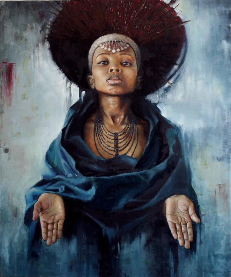 Artist: Loyiso Mkhize. African creations.