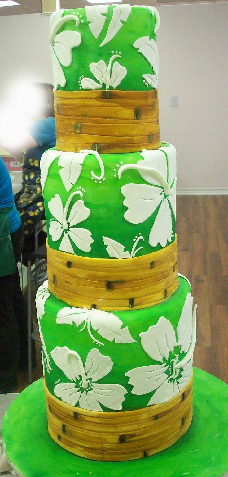 hawaiian birthday cakes designs - Google Search