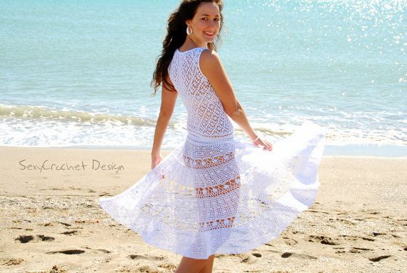 Hey, I found this really awesome Etsy listing at https://www.etsy.com/listing/126804369/on-sale-75-off-crochet-white-beach