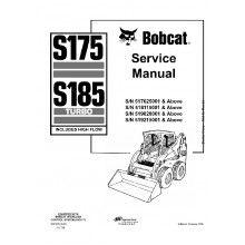 Bobcat S175, S185 Turbo (Includes High Flow) Skid Steer