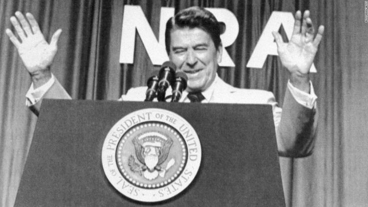 Trump Reagan and the NRAs radical agenda