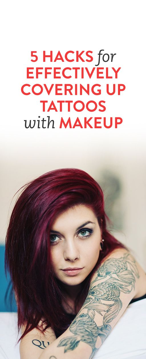 5 Hacks for Effectively Covering Up Tattoos with Makeup