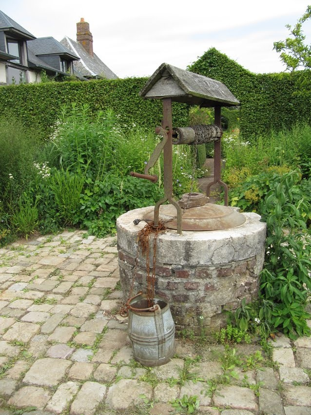 A Well From Which To Draw a Pail of Fresh Country Water