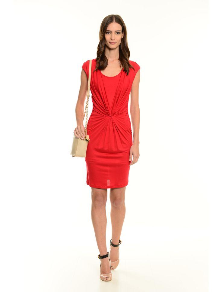 #abito con maxi arricciatura €49 #sanvalentino #diffusionetessile #fashion #moda