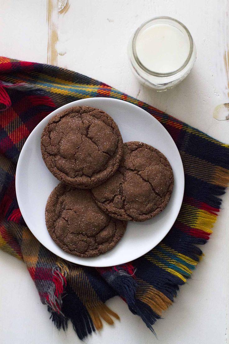 Chocolate Cardamom Cookies | girlversusdough.com @girlversusdough #vanillabeanbakingbook