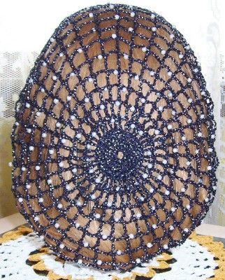 Another snood by Lady McSnood.  She has lots of beautiful patterns, colors, and beads.