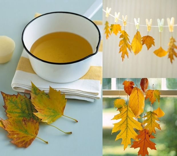 herfstblad-hanger-wax
