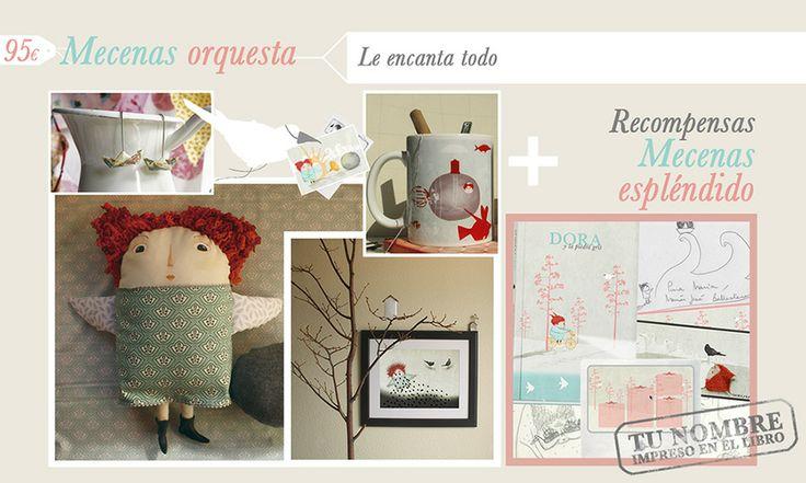 Recompensas para los mecenas orquesta de Dora. http://vkm.is/Dora