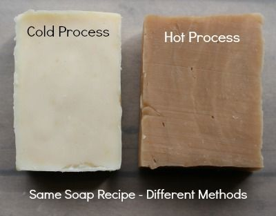 Same Soap Recipe but Different Methods Yield Different Results