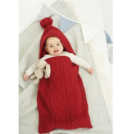 Baby Knitting Patterns Sleeping Bag : The 24 best images about Baby Cocoons - Knitting and Crochet Patterns on Pint...