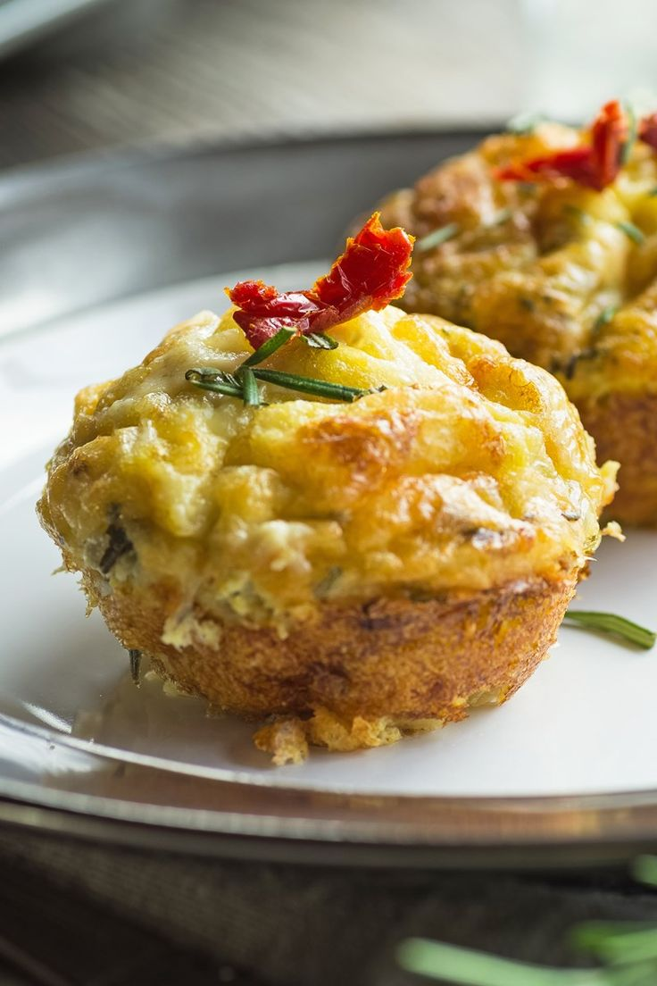 Crustless Spinach and Cheese Tarts