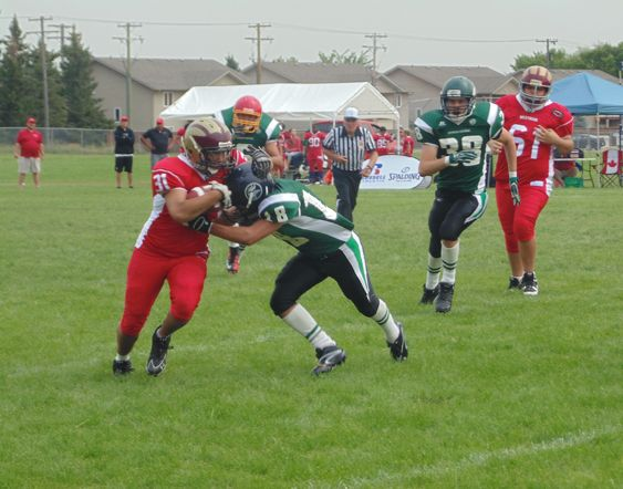 6-a-side tackle footballteaches youth about teamwork, leadership and discipline