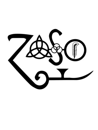 Really considering a foot led zeppelin tattoo and am really likin this one.