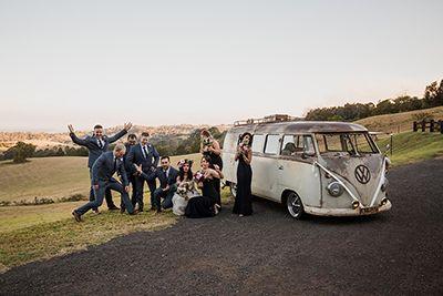 Wedding Ceremony and Reception at Loxley on Bellbird Hill, Kurrajong NSW Australia