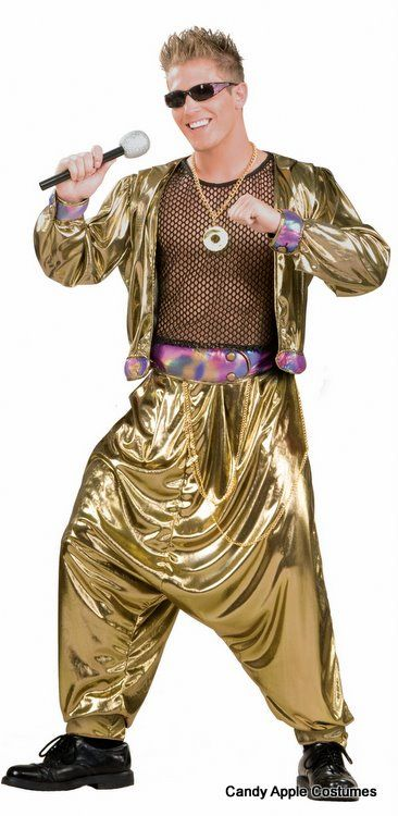 Adult 80's Video Superstar Costume - Candy Apple Costumes - 80's Costumes