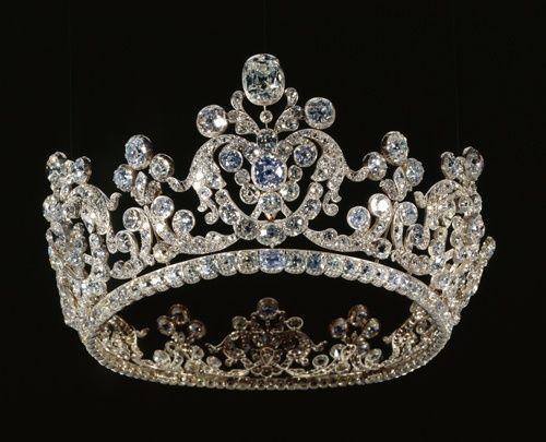 Sogenanntes Reiches Diadem aus dem Brillantschmuck der Königin Pauline von Württemberg