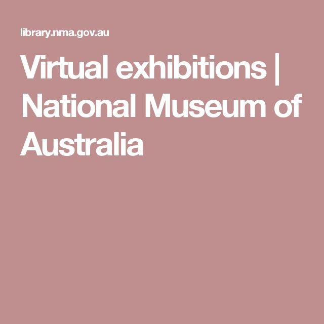 Virtual exhibitions | National Museum of Australia