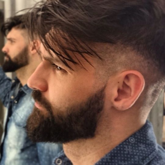 Mens Hairstyle And Beard 555 Best Hairstyles & Beards Images On Pinterest  Man's Hairstyle