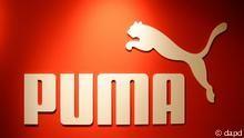 Deutschland Wirtschaft Logo Sportartikelhersteller Puma