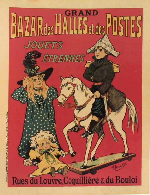 Grand+Bazar+des+Halles+et+des+Postes+(from+Maitres+de+l'Affiche)+by+Fernel