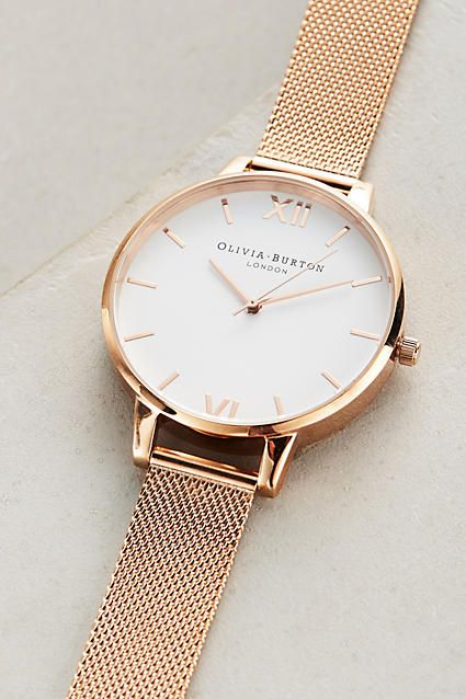 Rosie Gold Watch by Olivia Burton