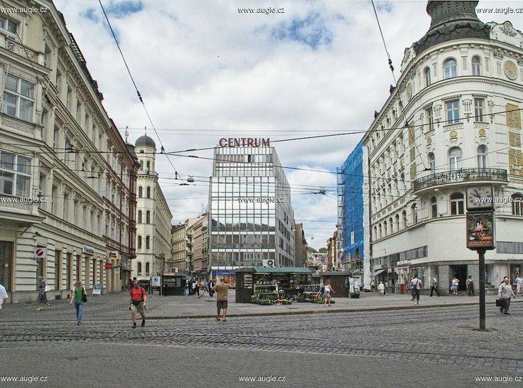Malinovského náměstí a OD Centrum - Brno
