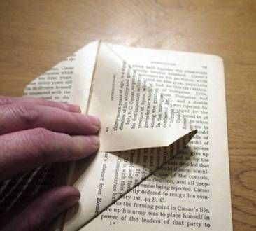 Casinhas Decorativas com Livros Velhos