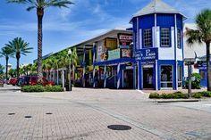 Fun shops at John's Pass in Madeira Beach, Florida