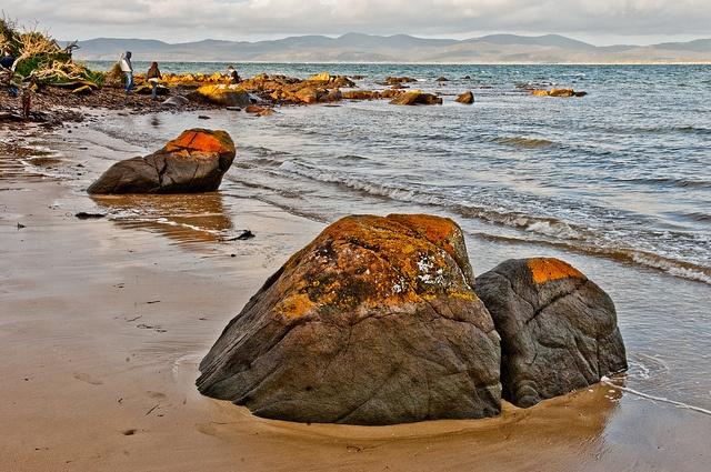 Hawley Beach, Tasmania by stigc, via Flickr