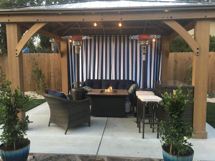 "I love my new ""Office""! - Yardistry Structures - Gazebos ... on Yardistry Backyard Pavilion id=81558"
