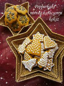 Hankka: Pepperkake - norvég karácsonyi keksz - BOLDOG KARÁCSONYT!!!
