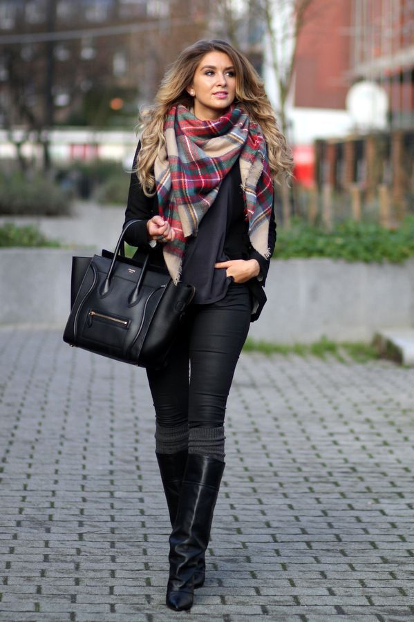 Can I confess something? I feel like I can. Here goes: I'm addicted to plaid scarves. I love plaid anything, I'm obsessed with scarves, and when they come together, I just go crazy. I have spent an embarrassing amount of money adding to my plaid scarf collection, which includes blanket scarves, infinity scares, and cozy … Read More