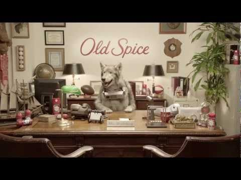 Old Spice   Meet the Wolfdog