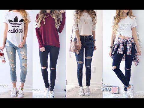 23e801c15 Ropa de Moda Juvenil 2017 Outfits Para Chicas - YouTube