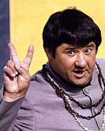 I was lucky enough to see Buddy Hackett perform live (on my 30th birthday, no less). One of the all-time greats of standup comedy.