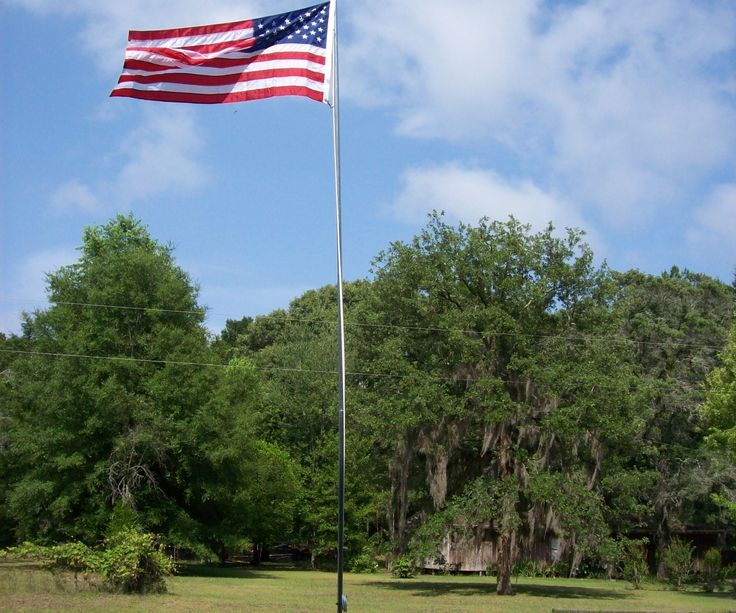 25+ Wooden Flag Pole Landscape Ideas Pictures and Ideas on